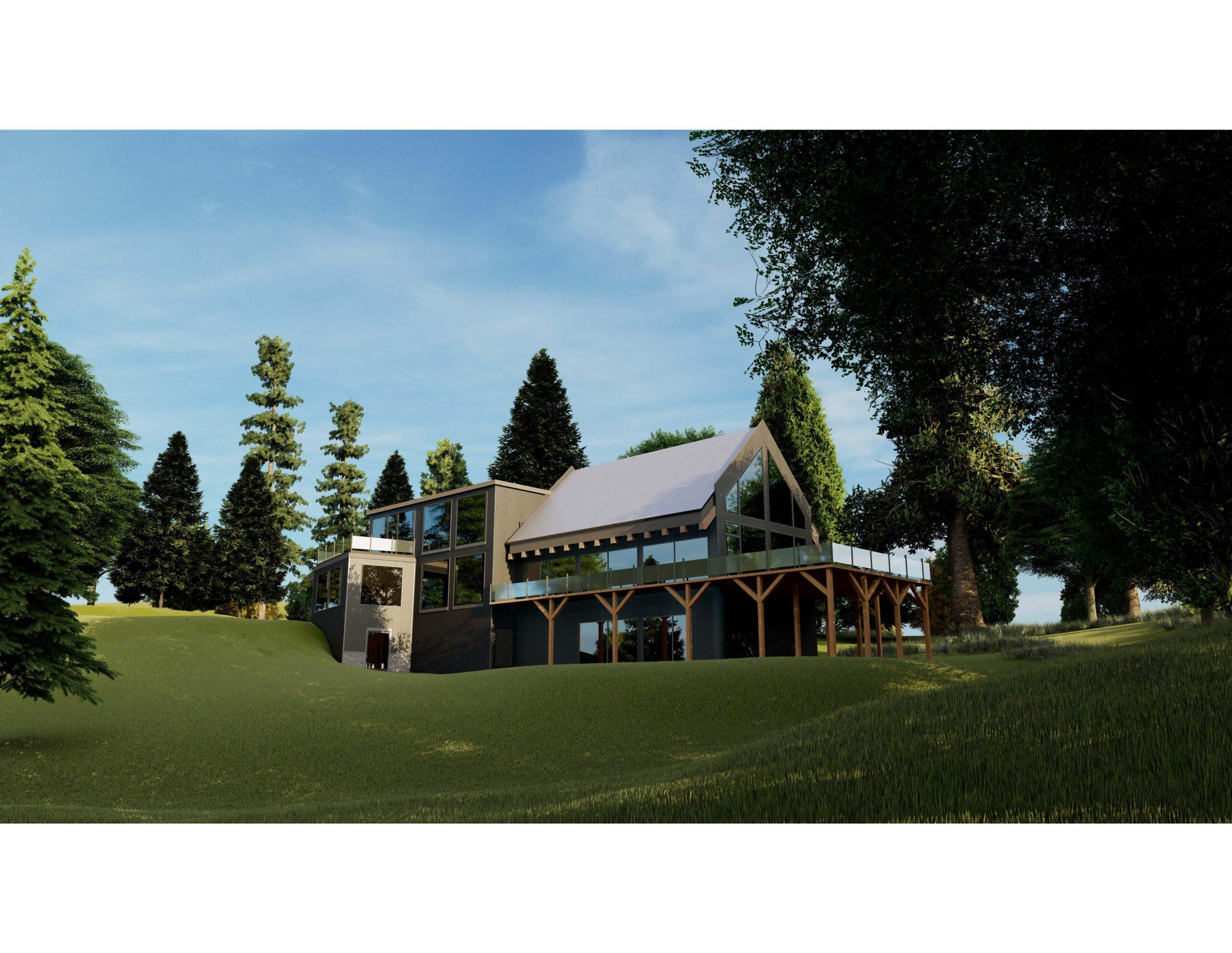 Blue Mountain Wild School building