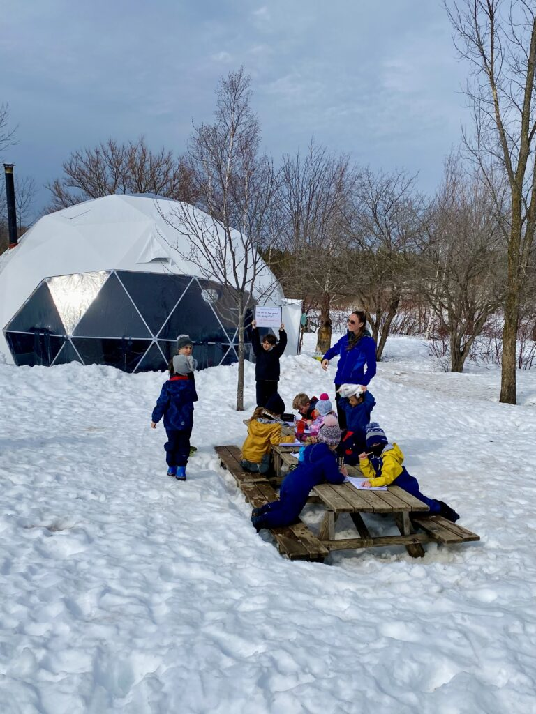 day camp outdoor education