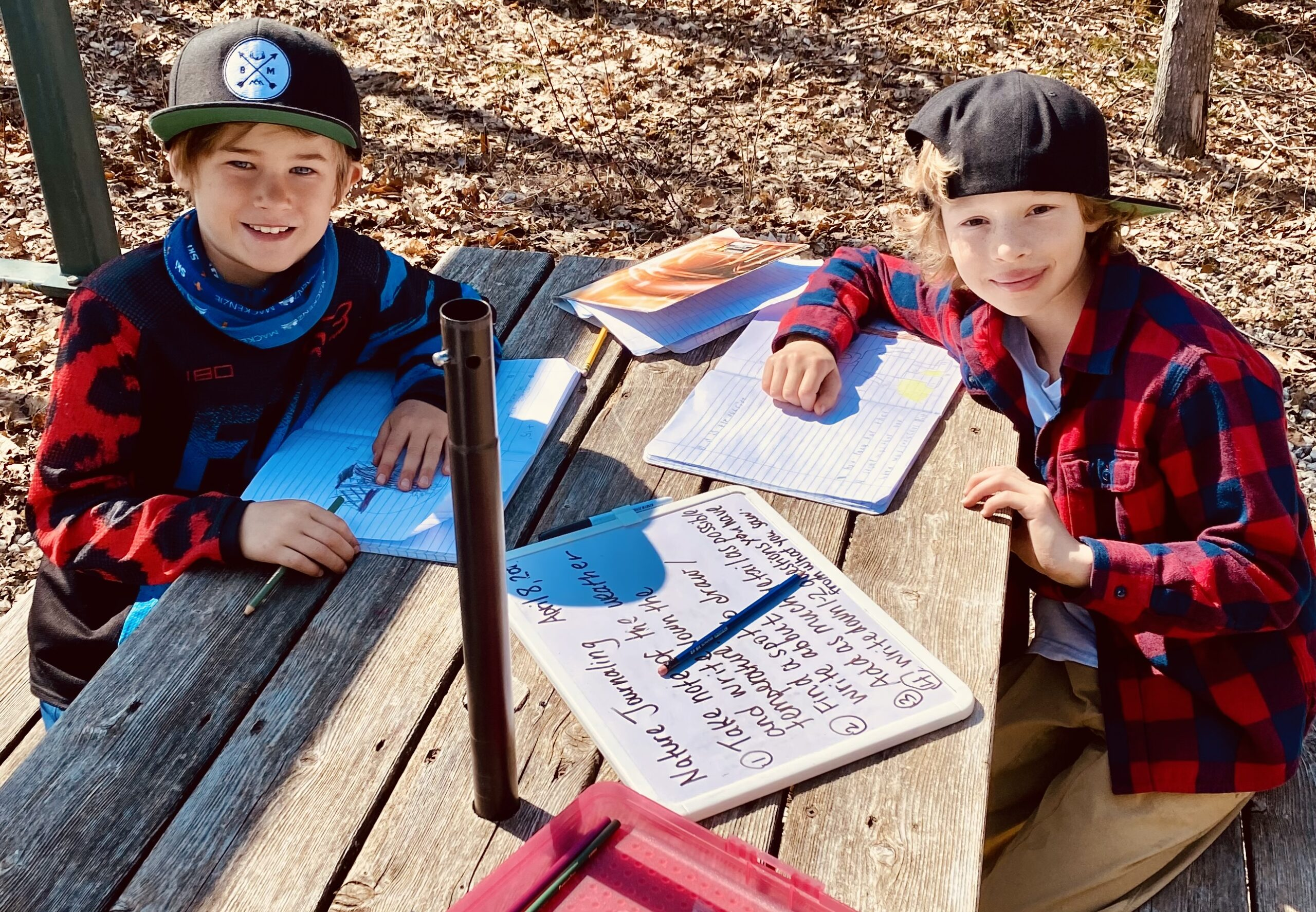summer camp outdoor learning