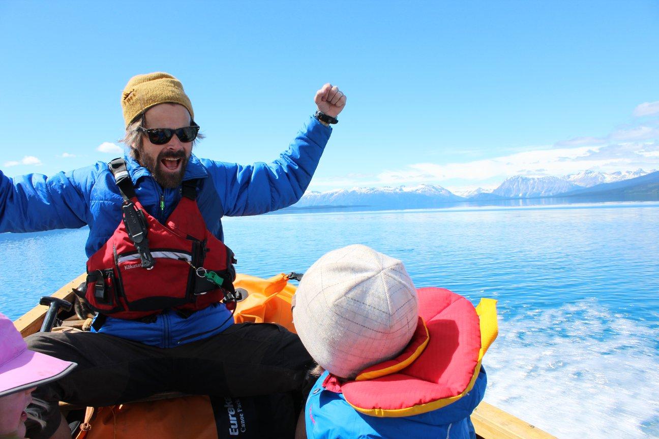 Canoe trip Blue Mountains